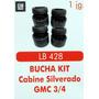 Bucha Kit Coxim Cabine Silverado Gmc 3-4
