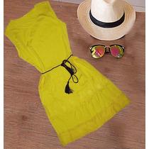Vestido Saída De Praia Verão Casual
