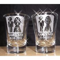 Copo De Tequila Personalizados A Laser Ws Brindes Jateados