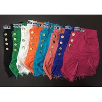 Short Hot Pants Coloridos