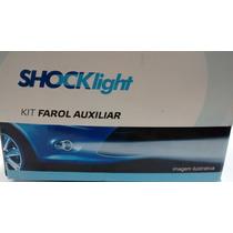 Farol De Milha Shock Light Kit Completo Original