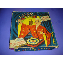 Antigo Jogo O Disco Magico Da Estrela , Anos 50 , Incompleto