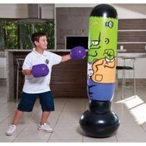 Joao Bobo - Saco De Pancada Infantil Mor - Pronta Entrega