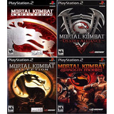 Mortal Kombat Collection (4 Jogos) Ps2 Desbloqueado Patch