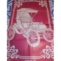 Poster Desenho Studbaker Modelo 1906