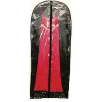 5 Capas De Roupa Vestido Transparente Com Zíper 150cm X 60cm