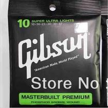 Encordoamento Violão Açõ Gibson Premium 010 (sensacional!)