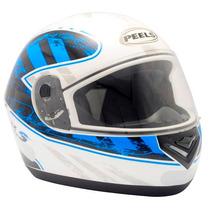 Capacete Integral Motociclista Peels Spike Cruiser Branco