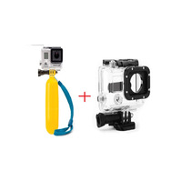 Gopro Bastão Flutuante+caixa Protetora Prova D Água Kit Hero