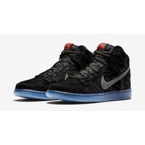 Tênis Nike Sb Dunk High Prm Flash Nº43 Bra/ 11 Usa Novo