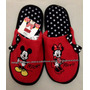 Pantufa Chinelo Adulta Mickey E Minnie Disney Tamanho 36/37