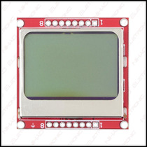 Display Lcd Gráfico - Nokia 5110 - 84x84 Px - Backlight Azul