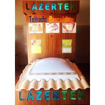 Claraboia Domos Lazertek 1,05 X 1,55 Iluminação, Ventilação