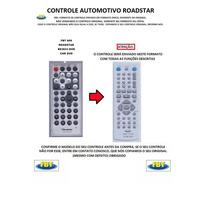 Controle Automotivo Roadstar Rs3033 Dvd Fbt609