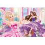 Painel Em Lona Barbie Pop Star 01 2x1,40