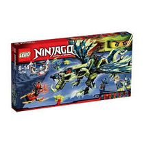 Lego Ninjago Ataque Do Dragao Moro 70736