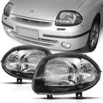 Farol Principal Renault Clio 1998 1999 2000 2001 2002
