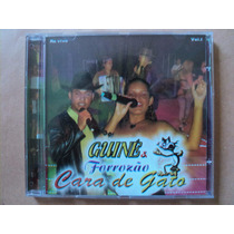 Guiné E Forrozão Cara De Gato- Cd Ao Vivo- 2004- Semi Novo!