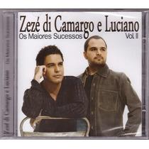Cd Zezé Di Camargo/luciano Vol. Ii Os Maiores Sucessos Lacra