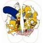 Chinelo Personalizado Simpson