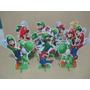 Mario Bros Cenario De Mesa,display,festa Infantil,mdf