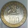 Moeda De 100 Pesos Chilenos 2012