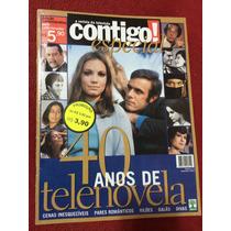 Revista Contigo Especial Rara 40 Anos De Novelas Divas Galãs