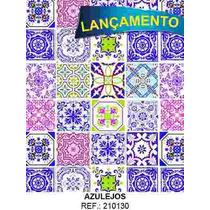 Papel Adesivo Contact Azulejos 45 Cm X 10 Metros Promoção