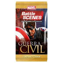 Jogo De Carta: Marvel Battle Scenes - Booster Guerra Civil