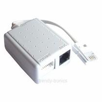 Micro Filtro Duplo Telefone Adsl Internet C/ 55 Unidades