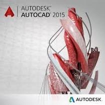 Autcad 2015 - 32 & 64 Bits Inglês + Português + Curso
