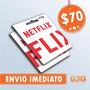Cartão Presente Pré-pago Netflix Assinatura R$ 70 - Imediato