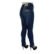 Calça Cintura Alta Skinny Biotipo 18209 Kalbatt Jeans