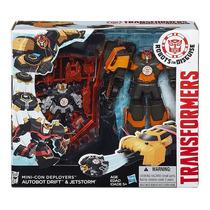 Transformer Indisguise Autobot Minicon Drift Jetstorm Hasbro