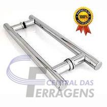 Puxador Para Porta De Madeira H 30cm X 20cm Aluminio