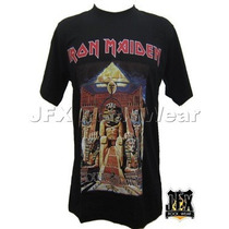 Camisa Camiseta Blusa Rock Iron Maiden Powerslave