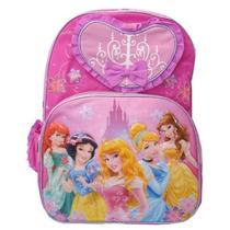 Mochila Escolar Disney, Grupo De Princesas (grande) - 617608