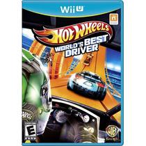 Jogo Hot Wheells Nintendo Wii U Jogo Carro Iu Novo Original