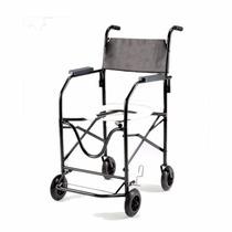 Cadeira De Rodas Banho Higiênica Idoso Dobrável