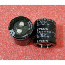 Capacitor Eletrolítico 220uf/400v