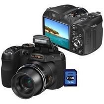 Câmera Digital Fujifilm Finepix S2800 Hd Preta 14mp, Lcd 3.0