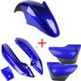 Kit Carenagem Mod Original Suzuki Yes 125 2005 A 2012 - Azul