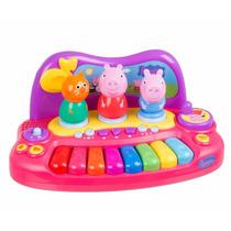 Teclado Piano Musical Infantil Peppa Pig Para Criança