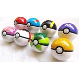 Pokemon Pokebola Pokeball Caixa Com 8 Pokebolas + 8 Pokemon