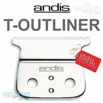 Kit Completo Lamina Maquina Andis T-outliner 04521 Original