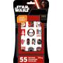 Tatuagem Metálico Star Wars Metálico + 4c Tatuagens 55ct T