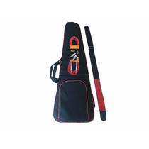 Kit Capa Bag Contrabaixo Luxo+cabo P10 Emborrachado+correia