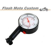 Medidor E Calibrador De Pressão Pneu Carro, Moto, Bike