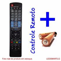 Controle Remoto Tv Lg Led Smart Home * Novo * Pilhas Grátis