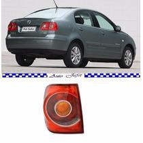 Lanterna Polo Sedan 2007 2008 2009 2010 2011 Nova Esquerdo